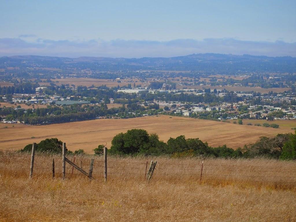 Santa Rosa from Taylor Mountain