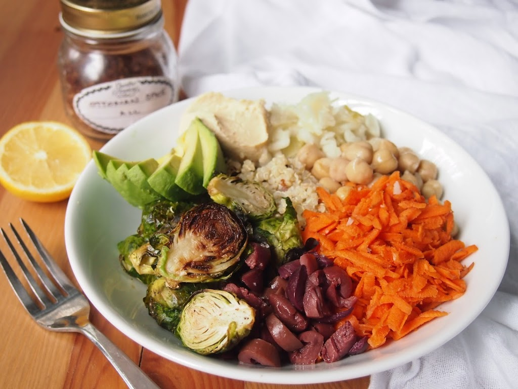 California grain bowl how to