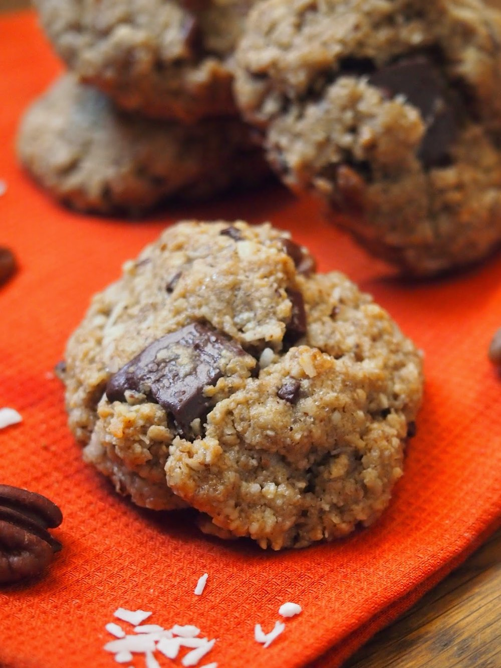 Everything But The Kitchen Sink Cookies kitchen sink cookies {gluten free, vegan} — rachael hartley nutrition
