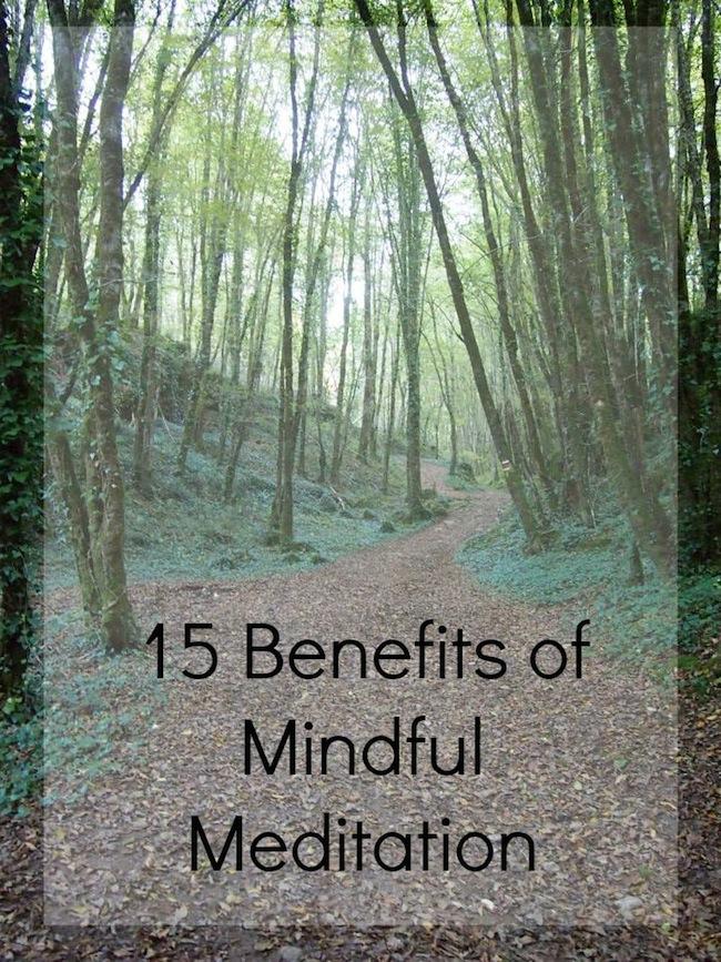 15 Benefits of Mindful Meditation