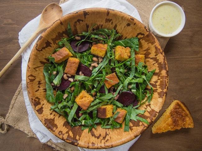 Southern Collard Green Salad