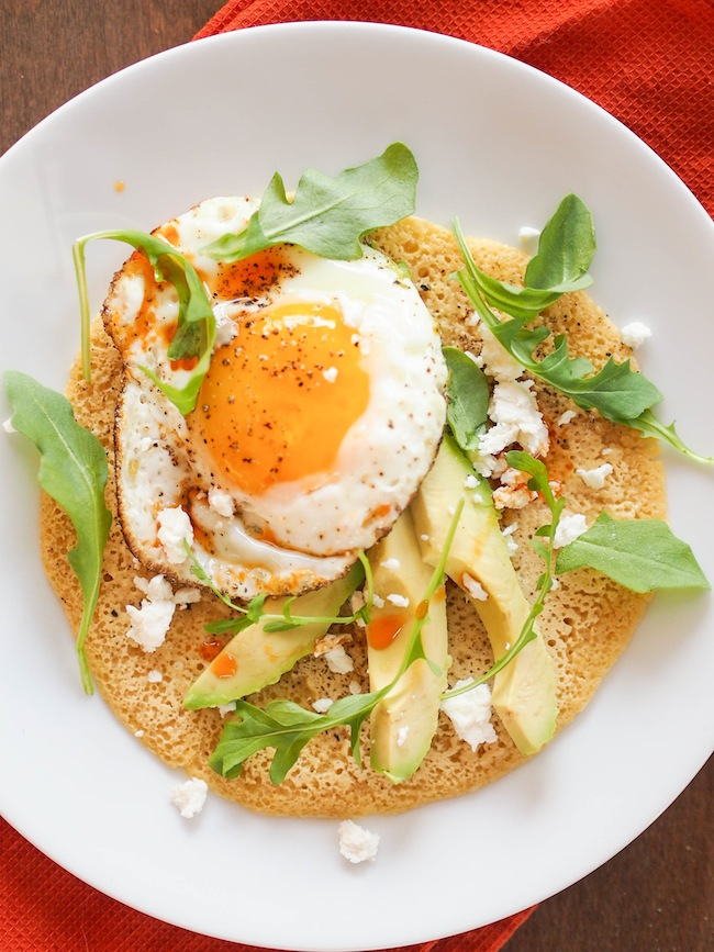 Gluten Free Chickpea Breakfast Pancake