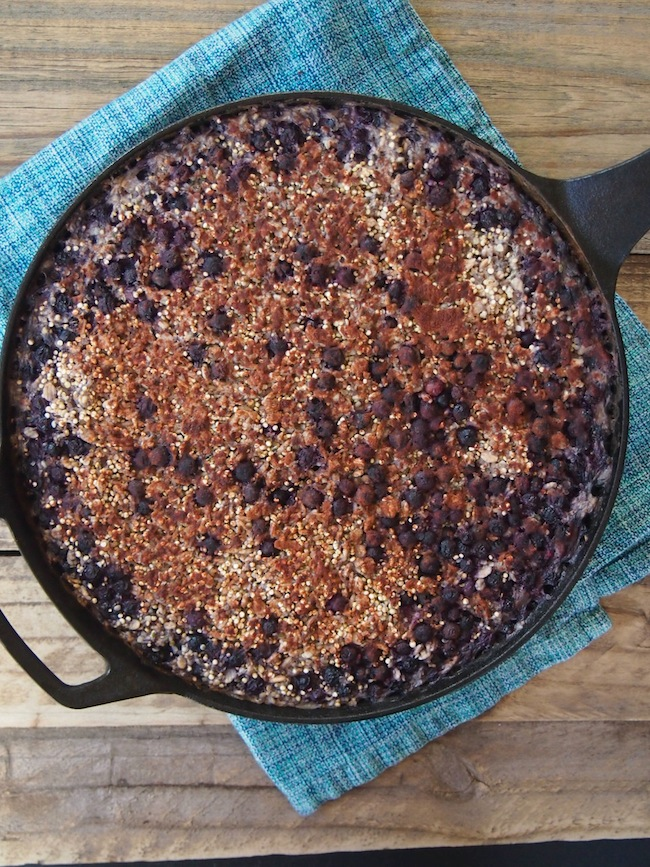 Quinoa and Chia Breakfast Bake