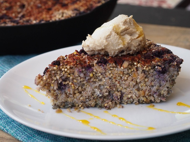 Low Sugar Quinoa Breakfast Bake