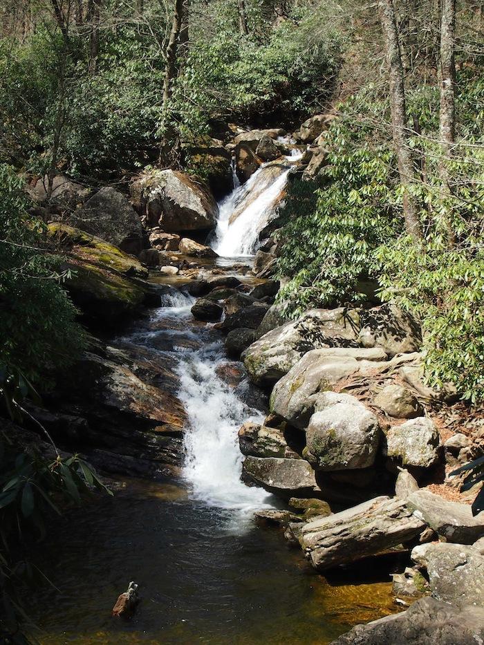 Skinny Dip Falls Blue Ridge Parkway