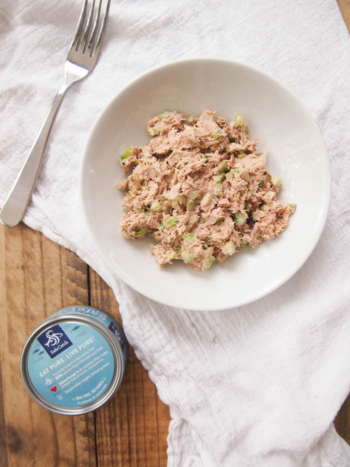 Classic Mayoless Tuna Salad