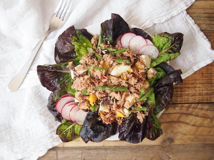 Mayoless Nicoise Tuna Salad