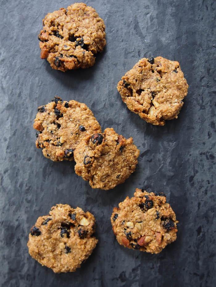 Gluten Free Trail Mix Cookies