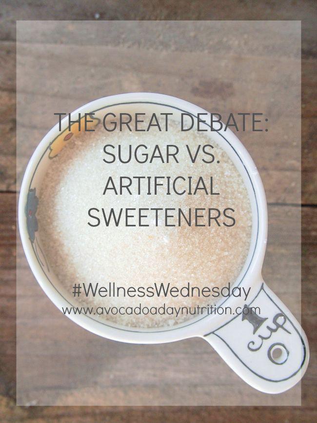 Sugar Versus Artificial Sweeteners