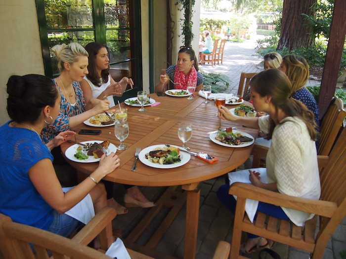 Barbecue Lunch with Almond Board of California