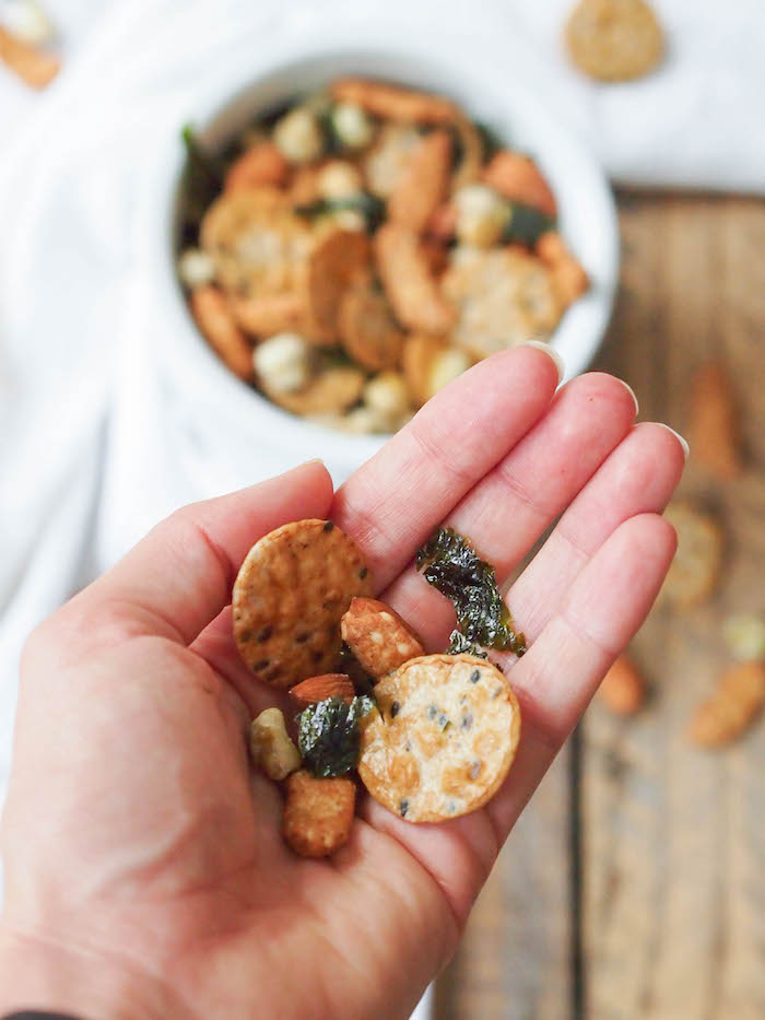 Whole Grain Asian Snack Mix