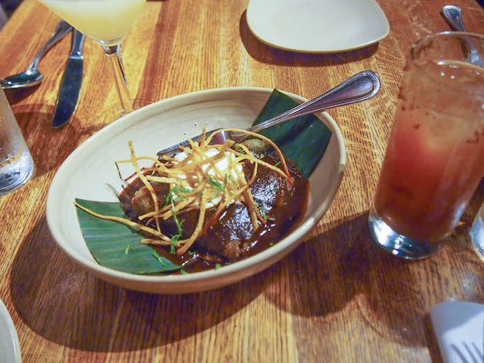 Chicago Travel Guide: Tamal with Plantains at Fronterra