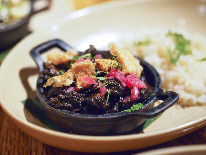 Pork Mole Taco at Fronterra Grill