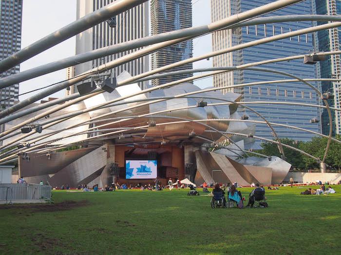 The Pavillon in Millenium Park