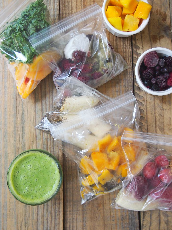 Freezer Smoothie Bags