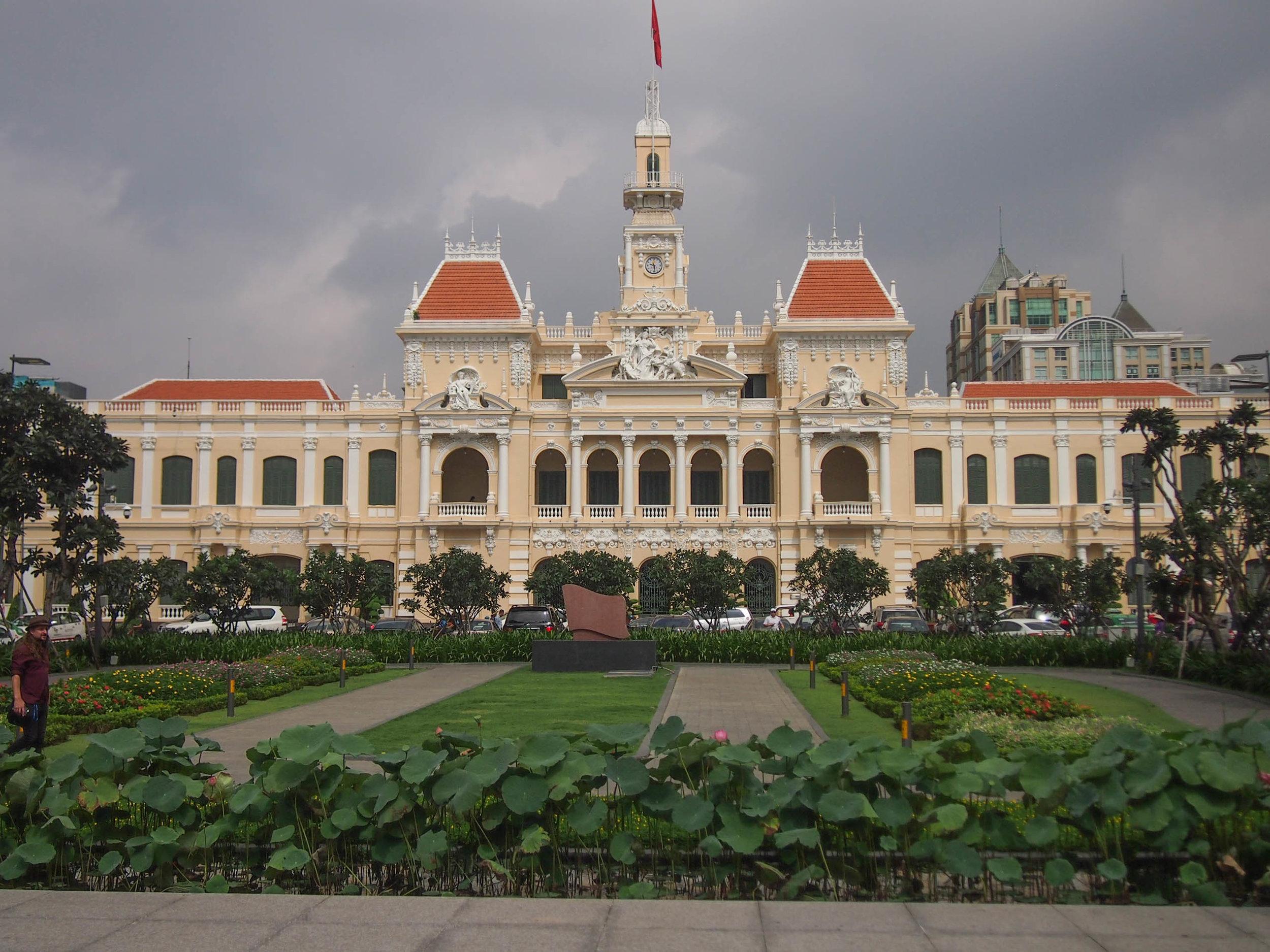 City Hall in Saigon Vietnam