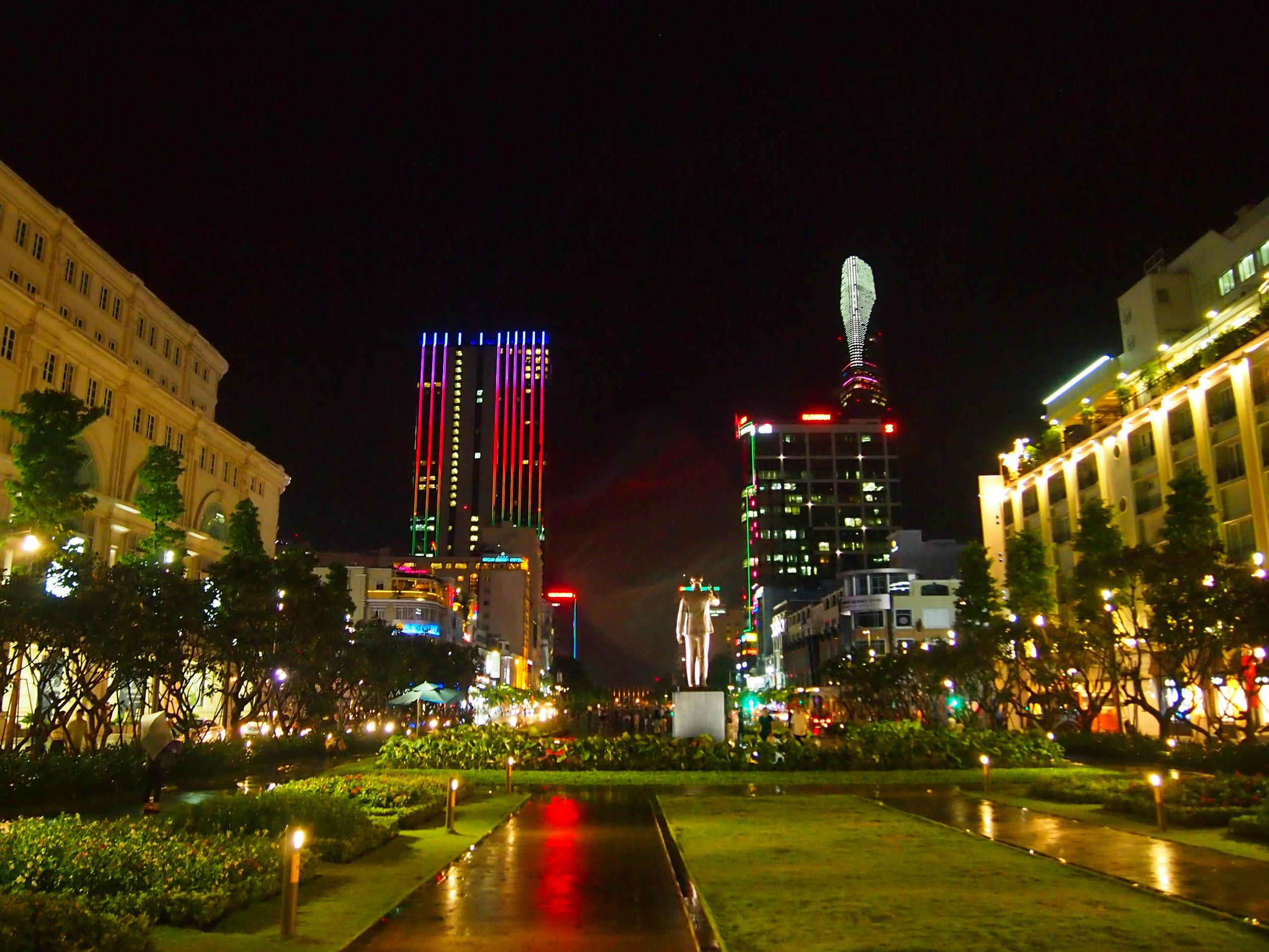 Saigon at night