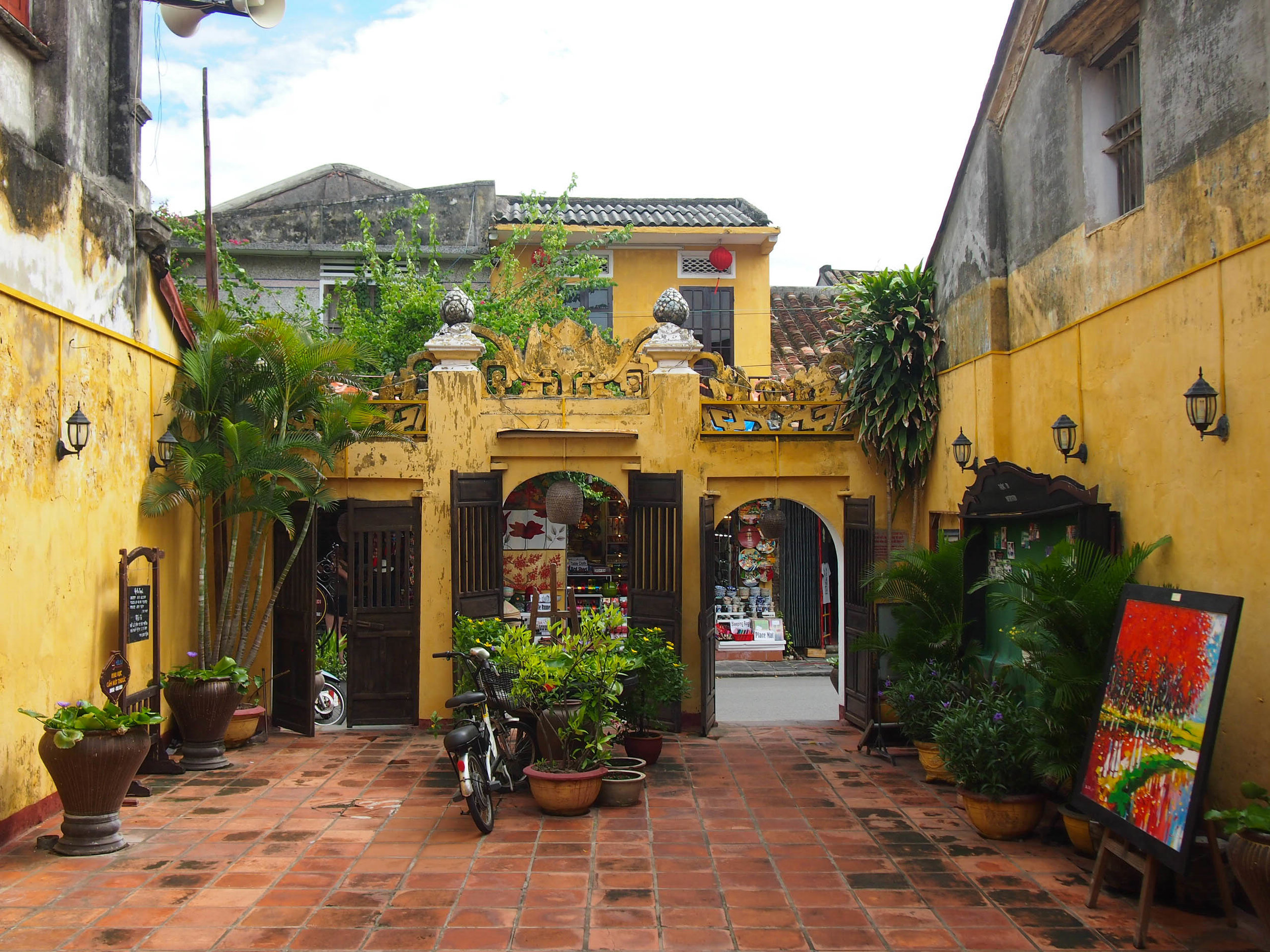 Hoi An is filled with art galleries like this one