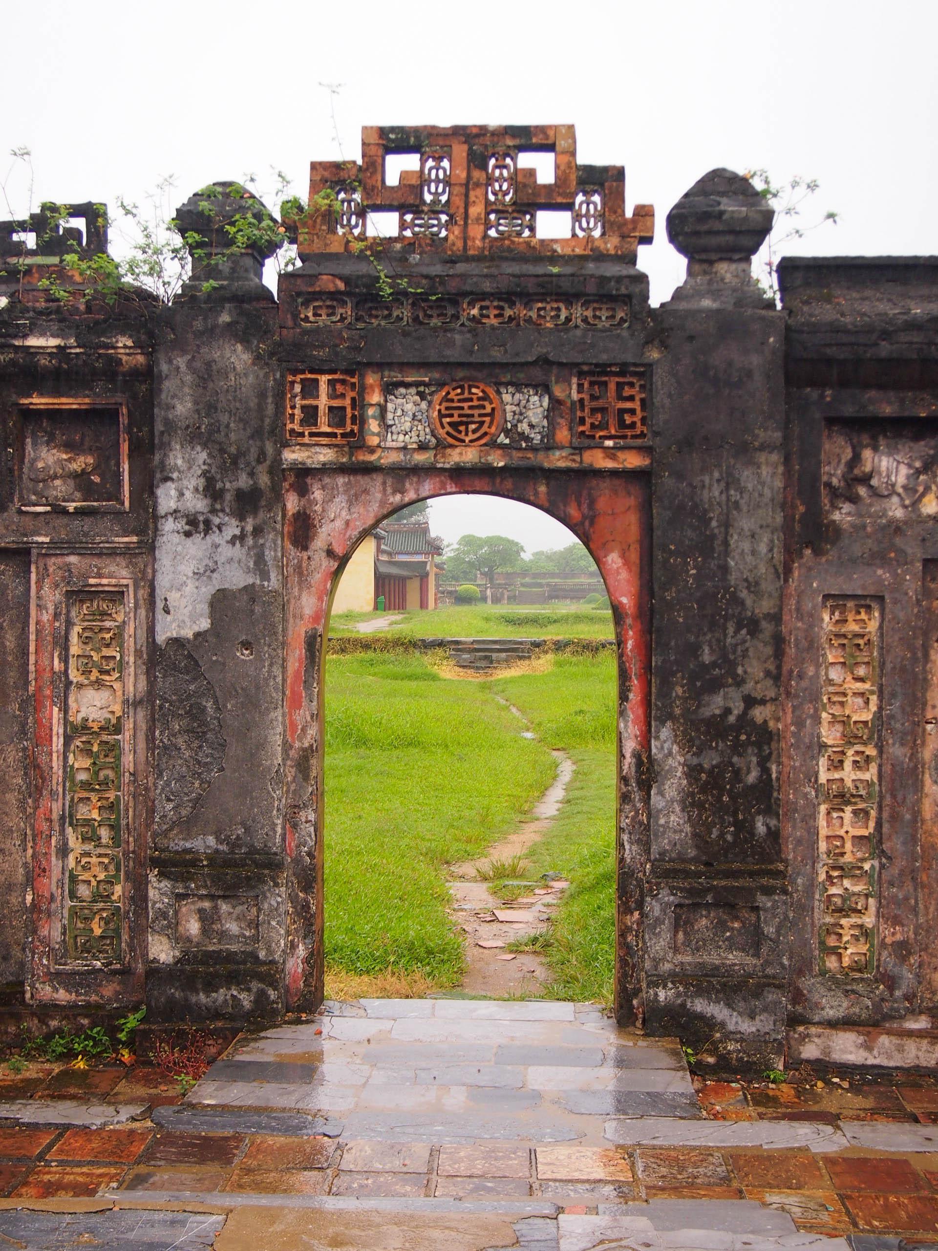 The entrance into the Forbidden City