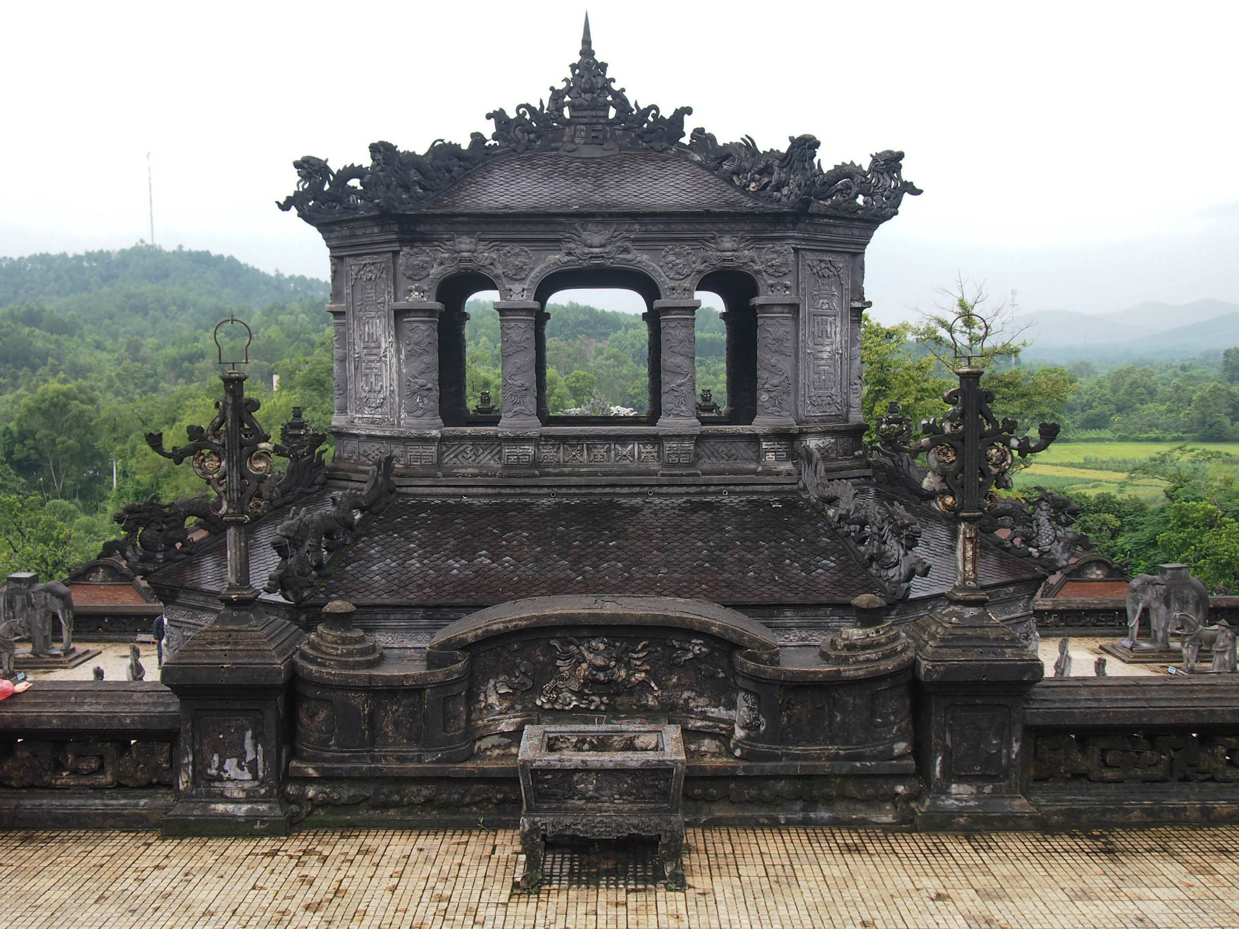 The tomb of Khai Dinh