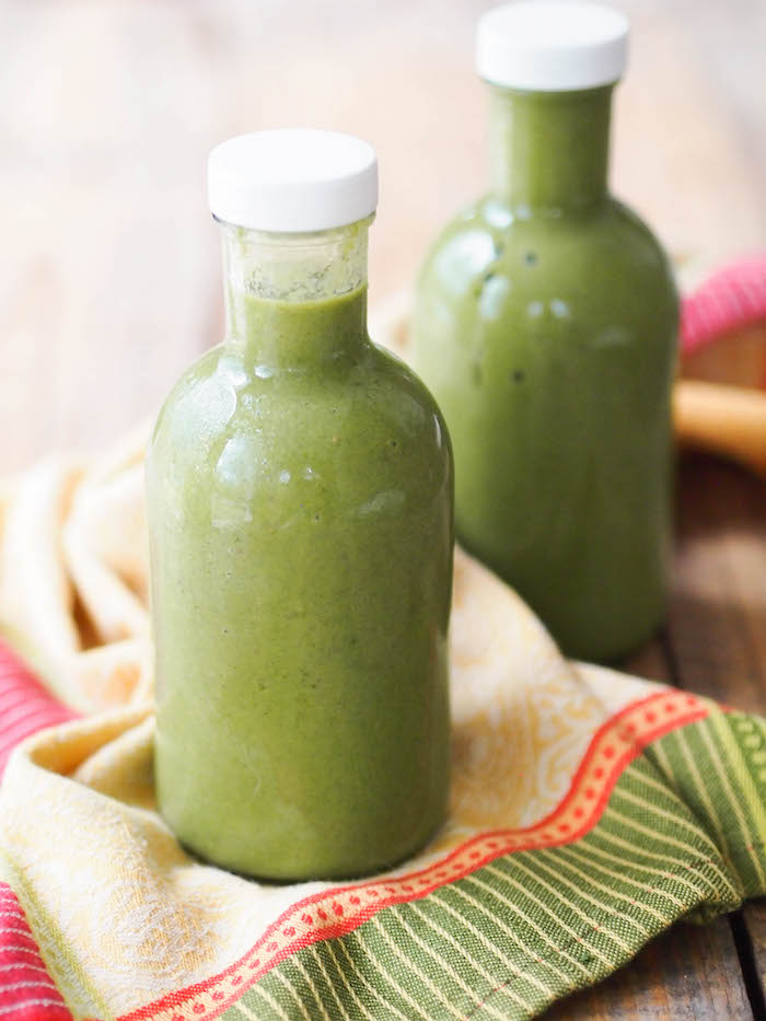 Classic green smoothie is an easy and delicious way to start your day with greens!