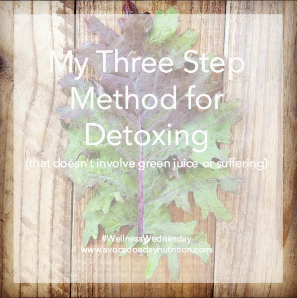 After a period of indulgence, it's tempting to get back on track with a detox. However, that does more harm than good. Learn my three step method for 'detox' that will have you feeling great in no time!