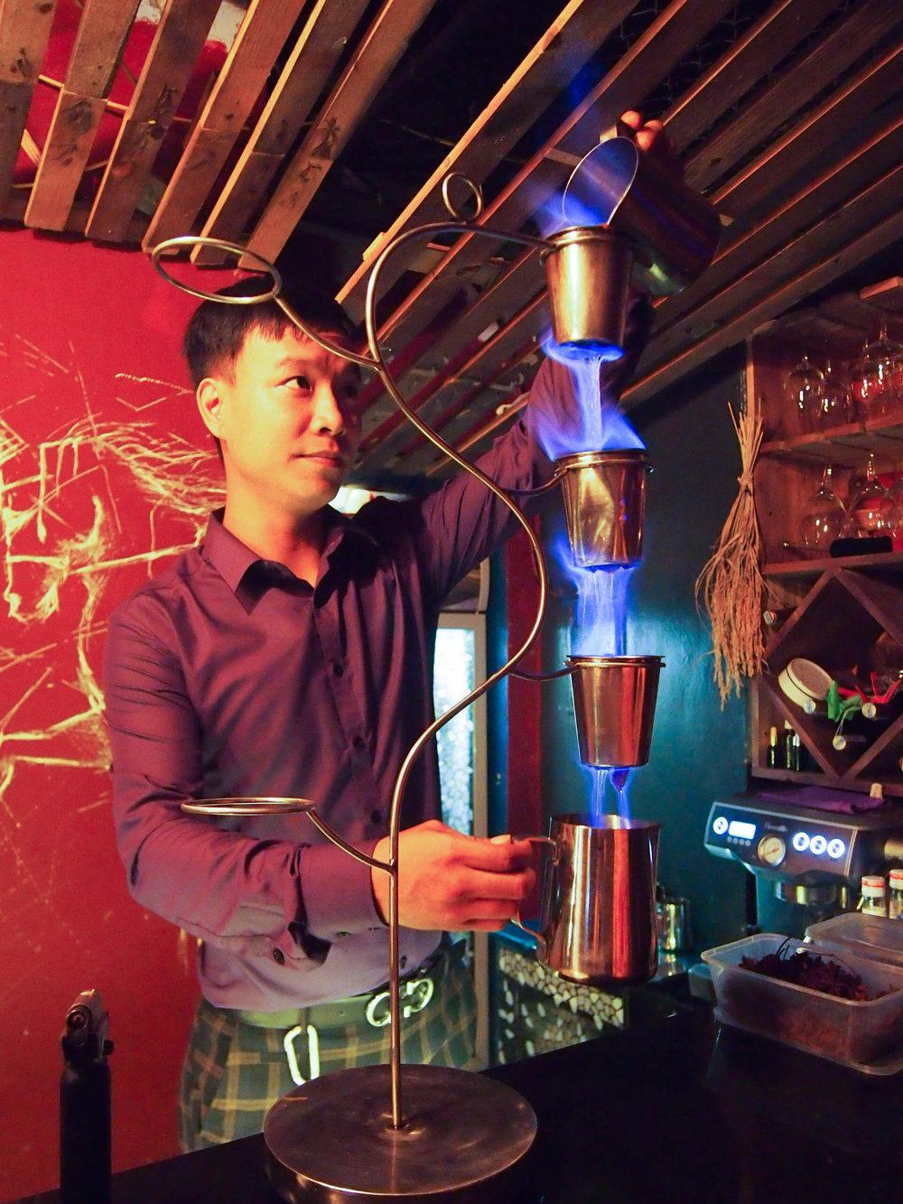 Pho Cocktail in Hanoi