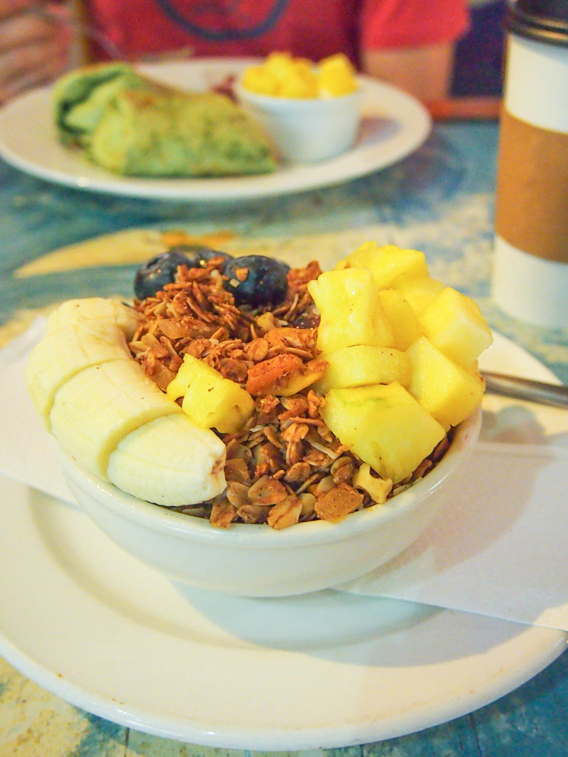 Acai bowl from Java Kai on Kauai