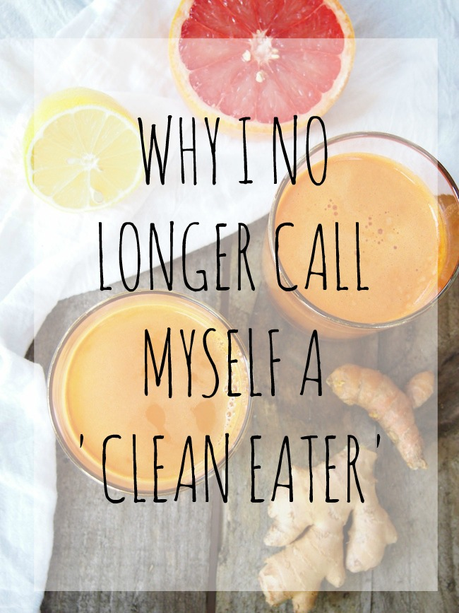 Whole foods may be the key to health, but I no longer support clean eating. Learn why in todays post for Wellness Wednesday.