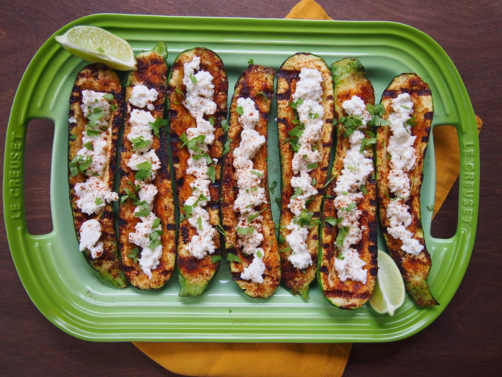 Grilled Mexican Zucchini Boats