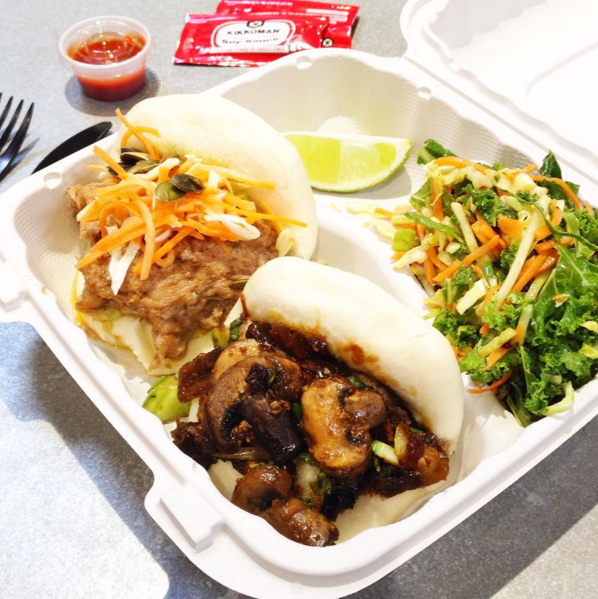 Steamed buns from Adobo Dragon