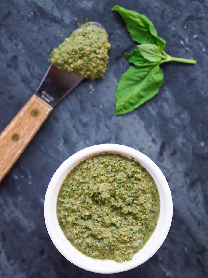 Creamy Vegan Pesto with Cashews