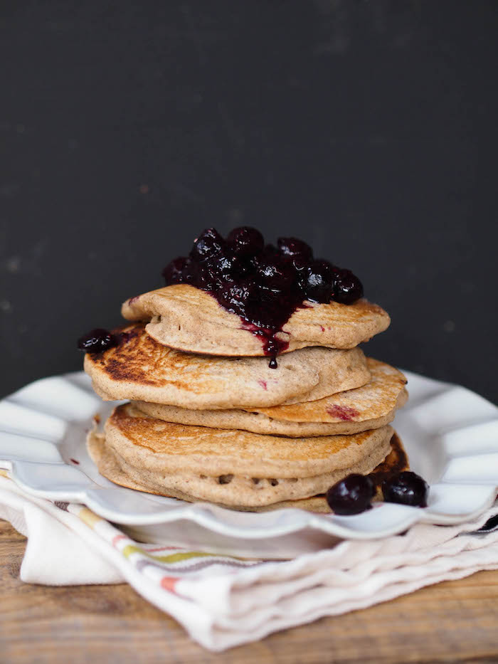 Classic multigrain buttermilk pancakes - the last pancake recipe you'll ever need!