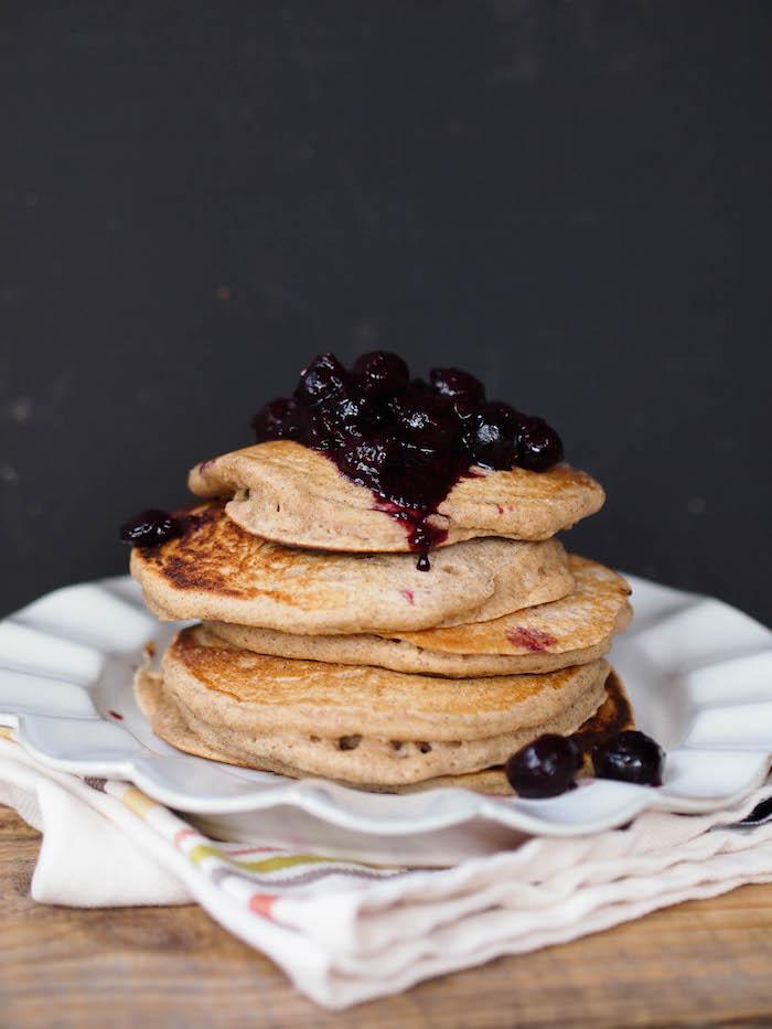 Classic multigrain buttermilk pancakes - the last pancake recipe you'll ever need!