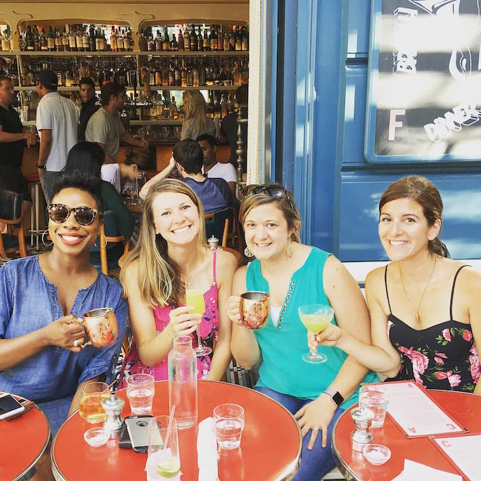 Eating and drinking my way around NYC with friends!