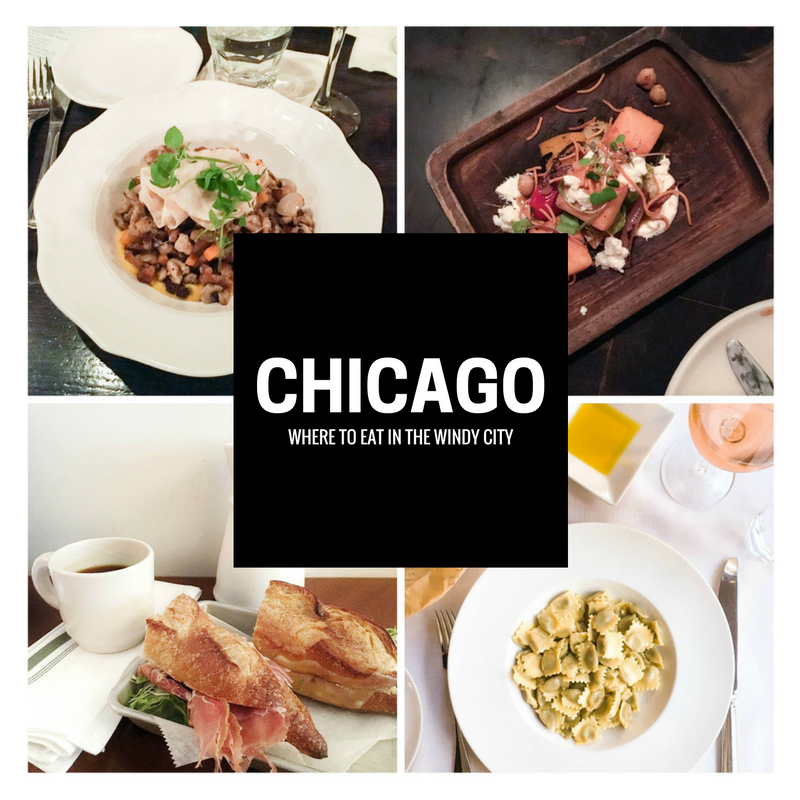 A guide of where to eat in Chicago