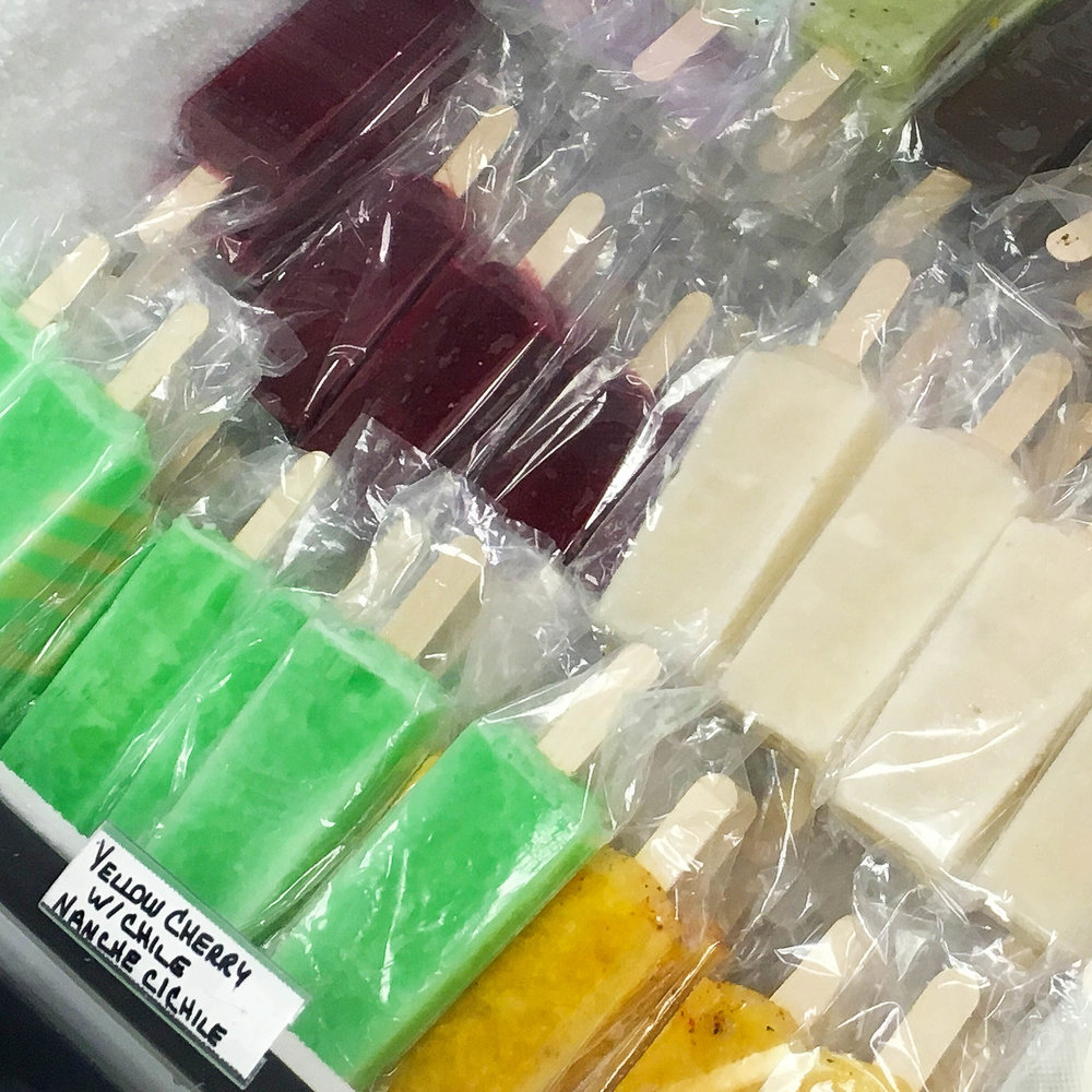 Paletas from Highland Park