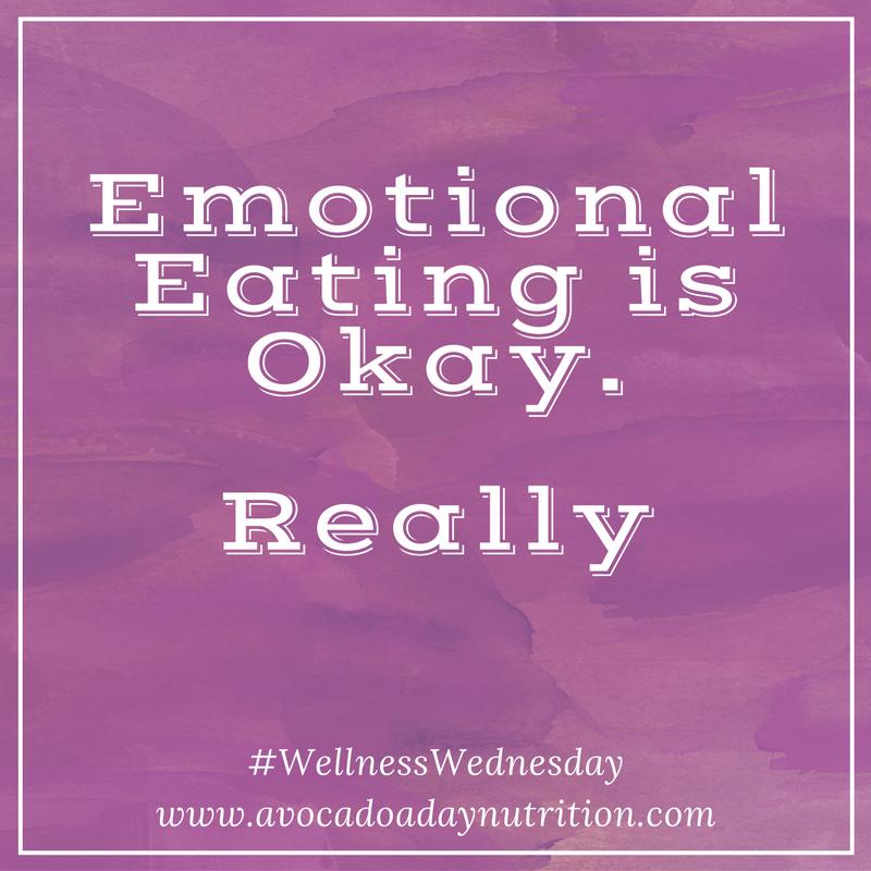 Emotional Eating is Okay.