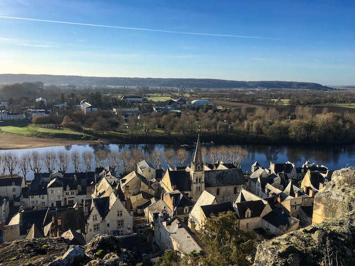 Views of the river from Chateau de Chinon