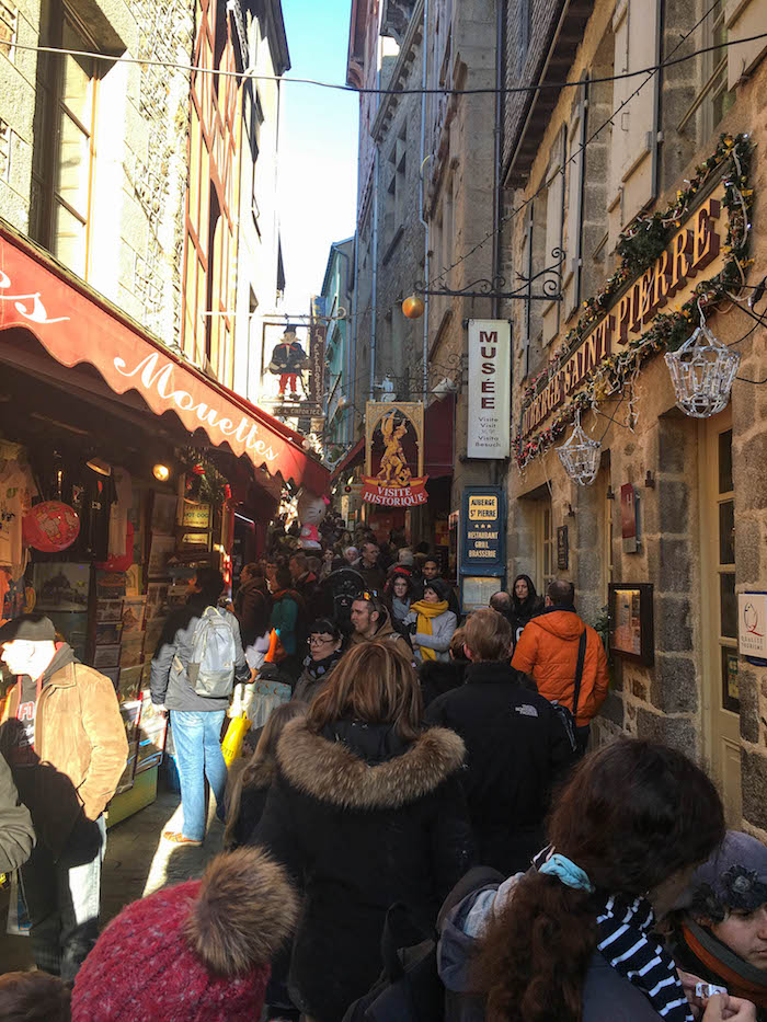 The Grande Rue: It's like the disney world of monasteries
