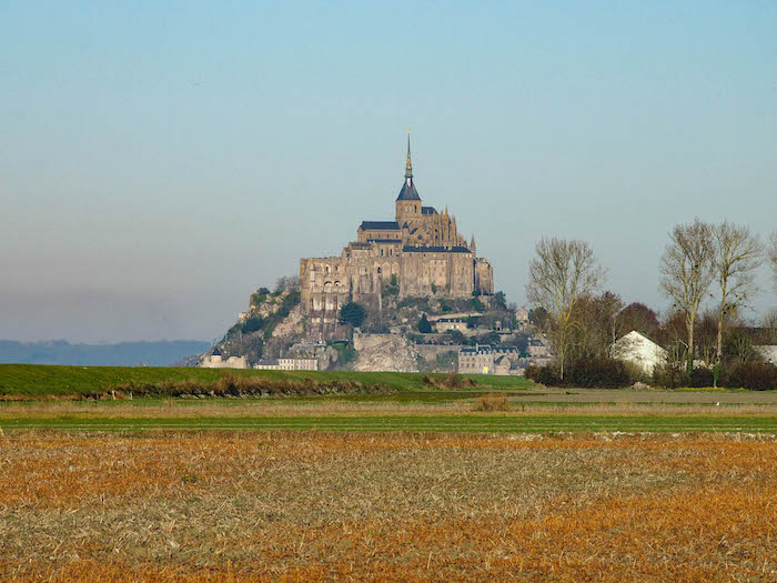 Getting closer to Mont St-Michel!
