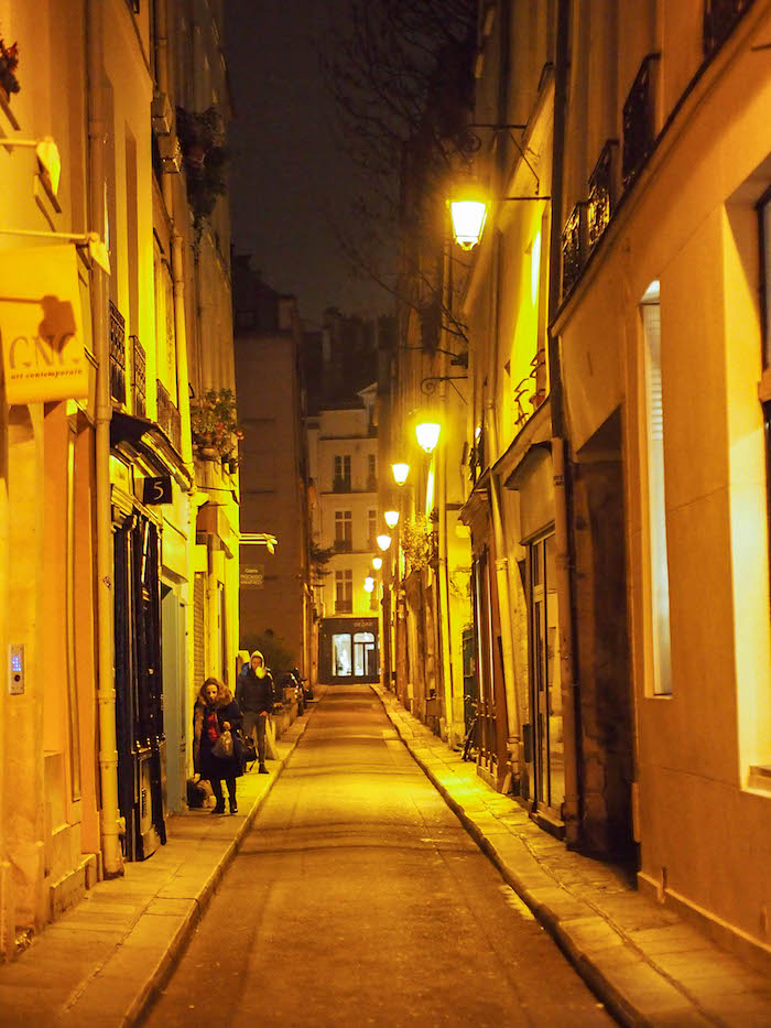 Rue Visconti, the cute little street we were staying on