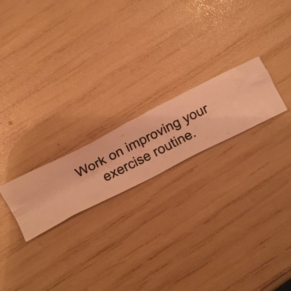 Did I get shamed by a fortune cookie??
