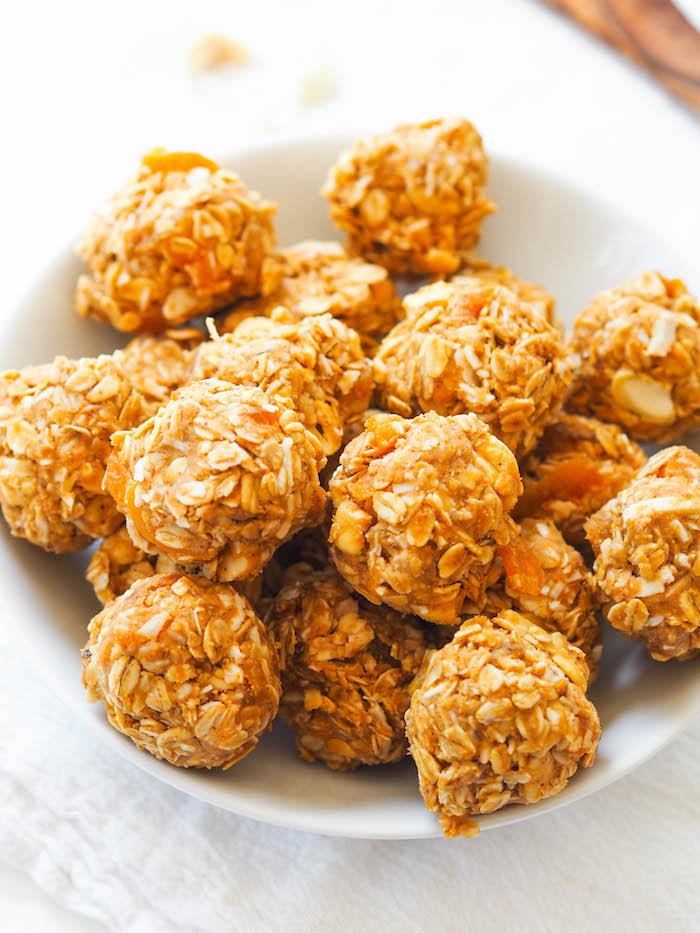 Salty Cashew Coconut Energy Balls