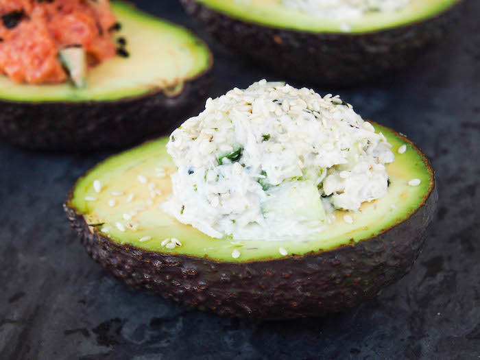 California Roll Avocado Sushi Cup