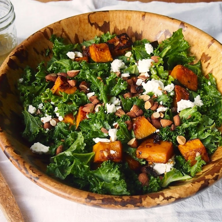 Chipotle Roasted Kabocha Squash Salad