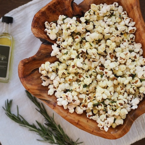 Truffle and Rosemary Popcorn