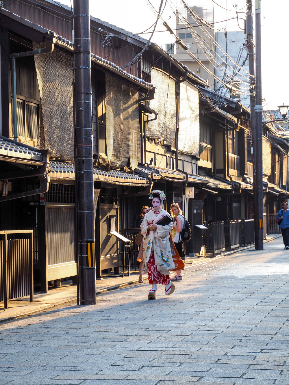 Spotted a geisha!