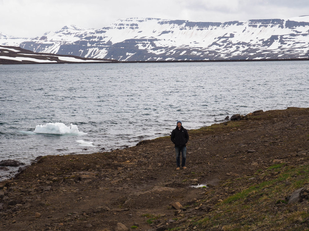 On the shores of Lagarfljot, the longest lake in Iceland