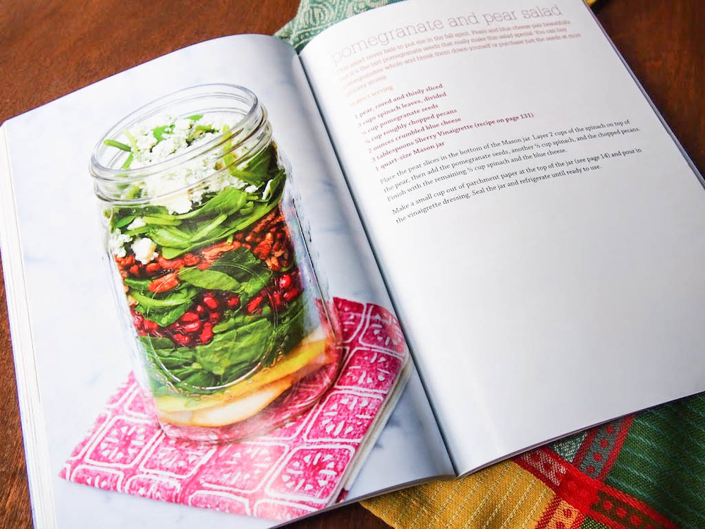 Mason jar peach and arugula salad a giveaway rachael hartley the winner will be picked using a random number generator from the comments if you win ill get in touch to get your address to send the cookbook forumfinder Image collections